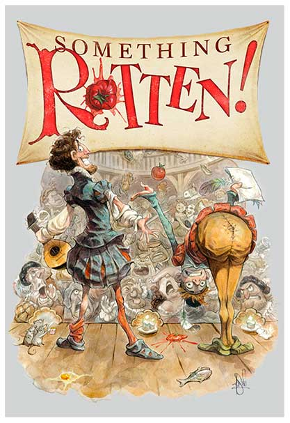 Something Rotten at the Elmont Memorial Library Theatre